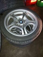 4 BMW Alufelgen mit SR