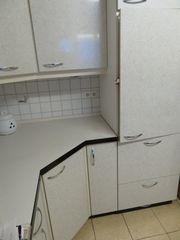 Eckküchenzeile zu verschenken mit Mikrowelle