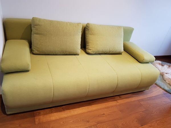 Couch ausziehbar als Schlafsofa