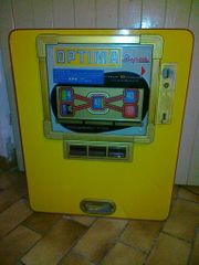 Geldspielautomat Optima Rarität