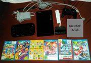 Wii U 32GB - Schwarz mit