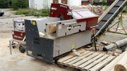 Sägespalter Brennholzautomat Sägespaltautomat Holzspalter Kreissäge