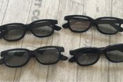 4x 3D Brillen von Real