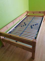 Jugendbett Holz masiv 90 x