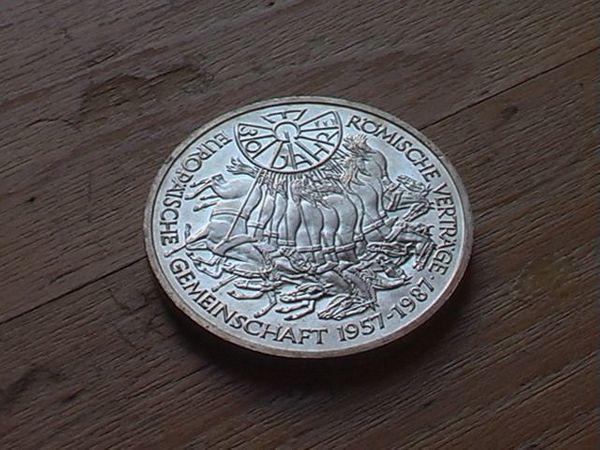 10 Dm Gedenkmünze 1987 Römische Verträge In Fürth Münzen Kaufen