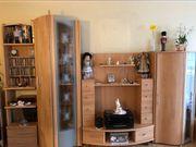 Wohnzimmer Wohnwand teilmassiv