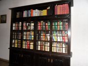 Antiker Jugendstil Bücherschrank
