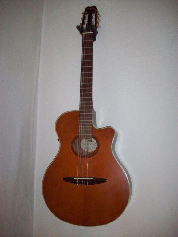 Halbakustik Gitarre/Yamaha APX-6NA in Mainz - Gitarren/-zubehör ...