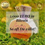 5 000 EURO in Bitcoin -