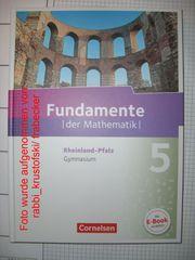 Unbenutzt Fundamente der Mathematik 5