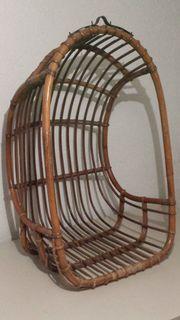 Schaukelkorb, Bambus