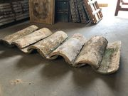 Spanische Dachziegel aus Ton Handarbeit