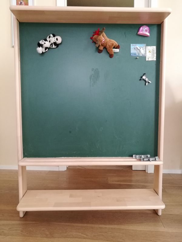 Tafel mit Regal für das Spielbett / Hochbett Fleximo von Paidi in ...