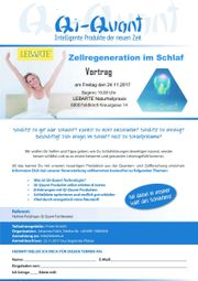 Zellregeneration im Schlaf -