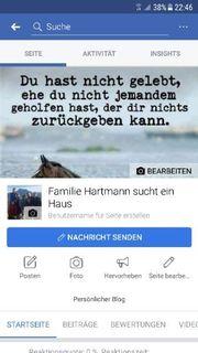 Familie Hartmann sucht