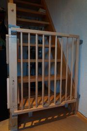 Fast neues Treppenschutzgitter/